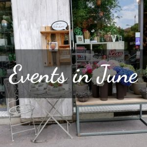 events in june - girl in milan